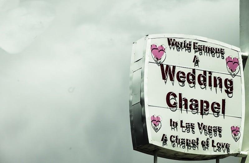 Bruiloft in het buitenland, Las Vegas bruiloft