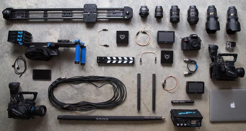Apparatuur fotograaf