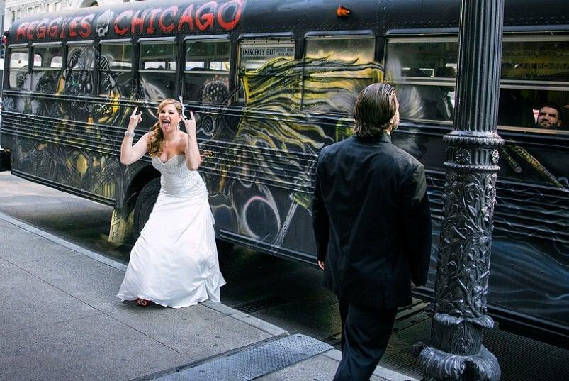 Fotoshoot bruidspaar - informele stijl