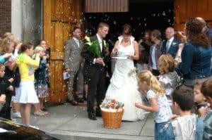 Fotograaf bruiloft, Helmond kerk, Wilbert