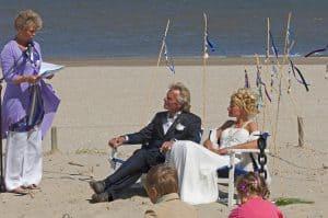 Jullie Huwelijksambtenaar op Texel