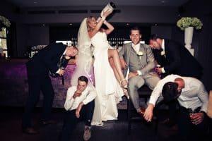 Trouwfotograaf Brabant Den Bosch, champagne bruid, Sebastian