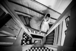 Trouwfotograaf Eindhoven, bruid bruidsjurk, Esther