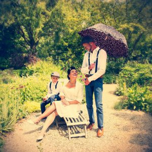 Trouwfotograaf-Vlissingen-Liane-vintage-bruidspaar