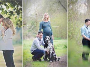 Zwangerschaps fotoshoot Drenthe - Mirfotografie, shoot in het bos