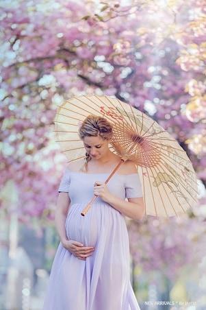 Zwangerschapsfotograaf Groningen - Mama to be in de zon
