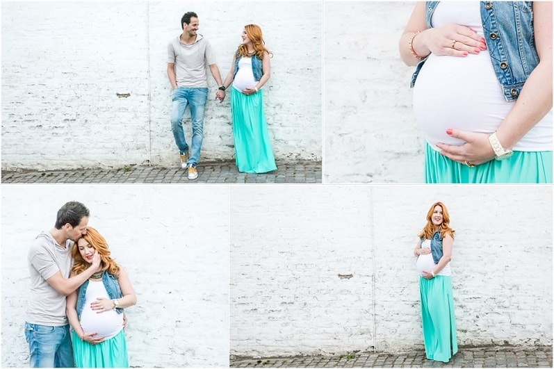 Zwangerschapsfotoshoot Nederweert Limburg - MOODZ Fotografie, zwanger stel