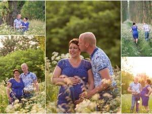 Zwangerschapsshoot Groningen - Fardo Dopstra, bloemen
