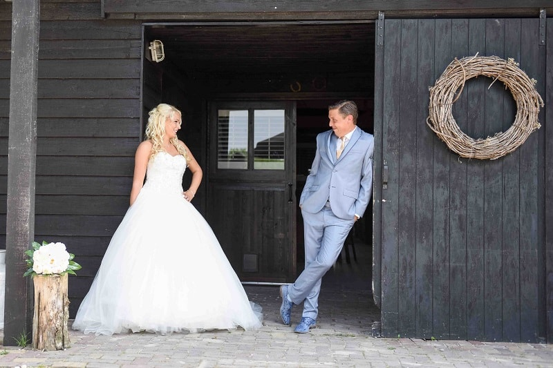 Betaalbare huwelijksfotograaf, bruid stal bruiloft Leiden, Marline