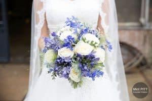 bruidsfotograaf urk flevoland bruid bruidsboeket