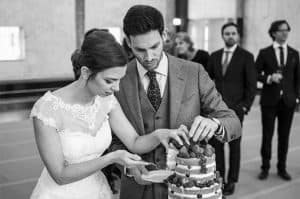 Goedkope trouwfotograaf, Utrecht, bruidstaart, Rutger