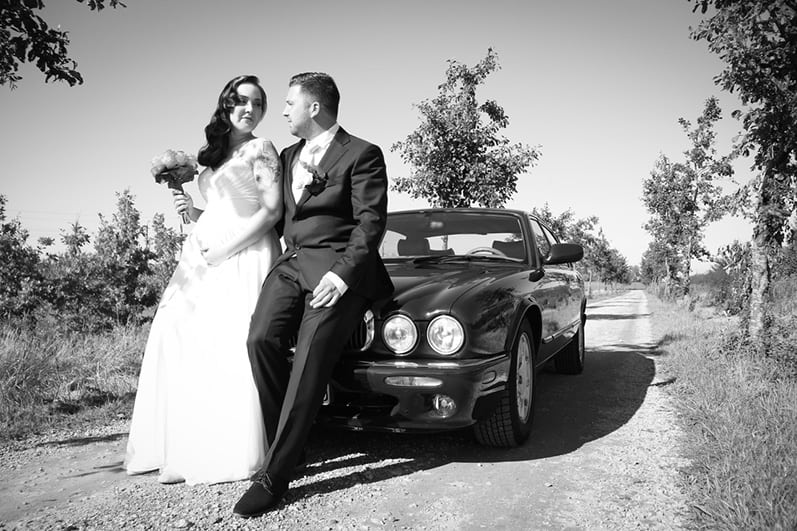 Goedkope trouwfotograaf, Zoetermeer trouwauto, Bryan