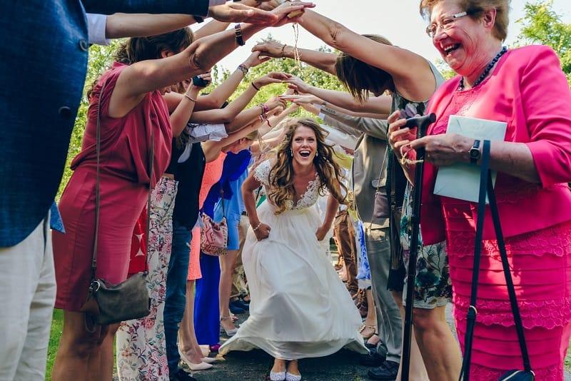 Trouwfotograaf Alkmaar - Bruiloft boog bruid