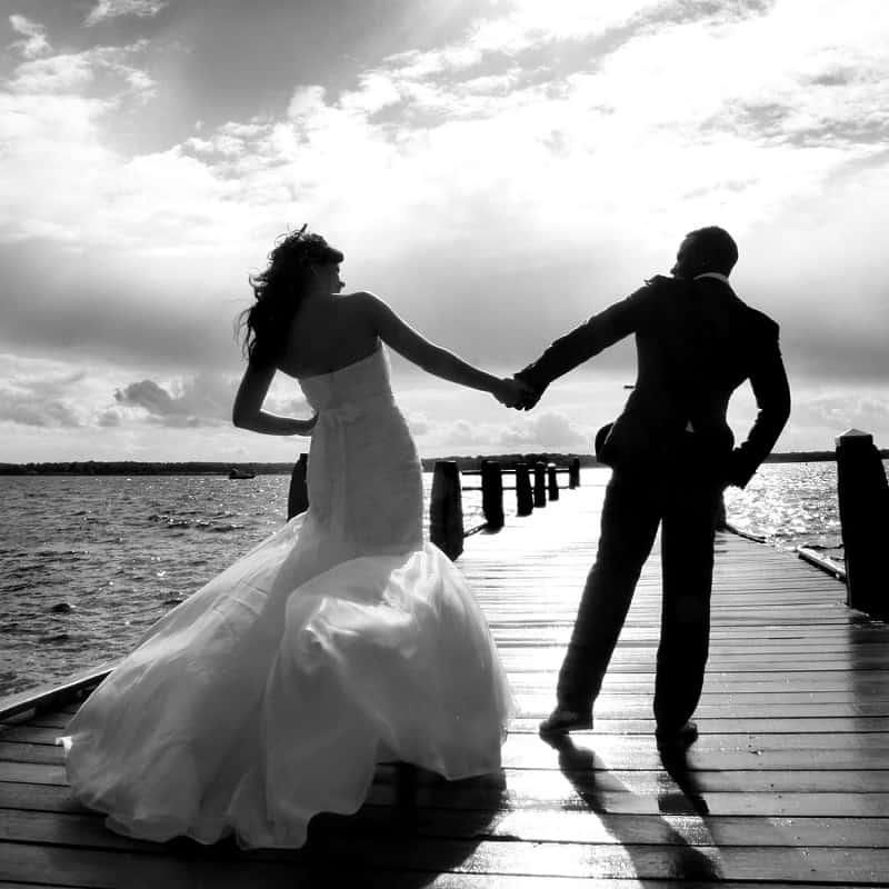 Bruidspaar trouwreportage, fotograaf Hengelo, Han