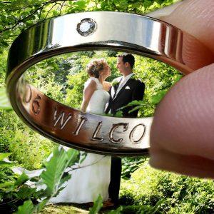 Trouwfotograaf Arnhem, trouwring huwelijk, Danielle