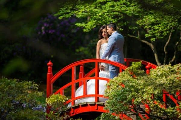 Bruidsfotograaf Den Haag, trouwreportage park, Ronald