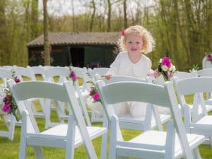 Bruidsmeisje Goes, ceremonie bruiloft, Dick