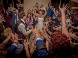 Fotograaf huwelijk Middelburg, feest bruiloft dansen, Dick