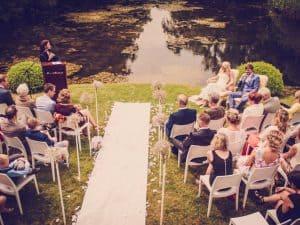 10. Ceremonie huwelijk, Friesland, Dokkum, gasten, Nickie