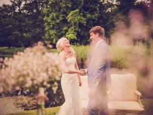 11. Ceremonie huwelijk, Friesland, Dokkum, ja woord bruidspaar, Nickie