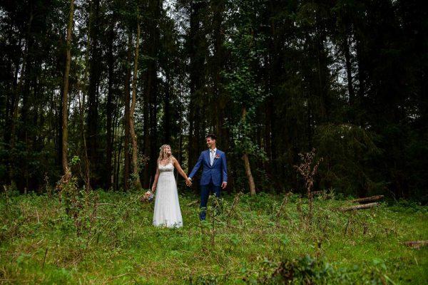 trouwfotograaf-bunschoten-spakenburg, bos, Chantal