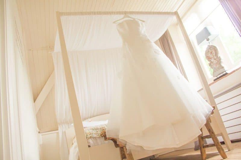 Bruiloft Utrecht, trouwjurk, Mijntje