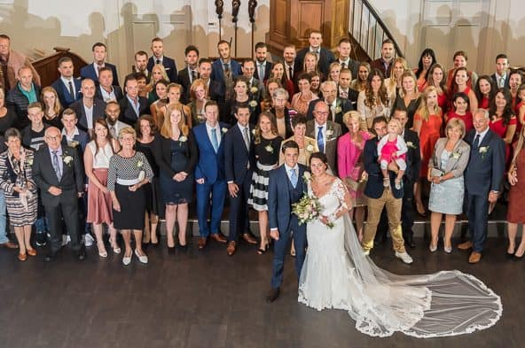 Trouwfotograaf Hoofddorp, bruiloftsgasten, Peter