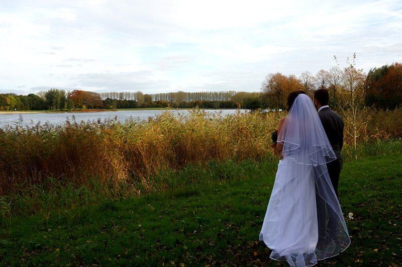 Trouwfotograaf Wageningen, bruidspaar, Nancy