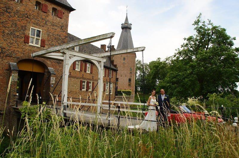 Trouwfotograaf Wageningen, kasteel, Nancy