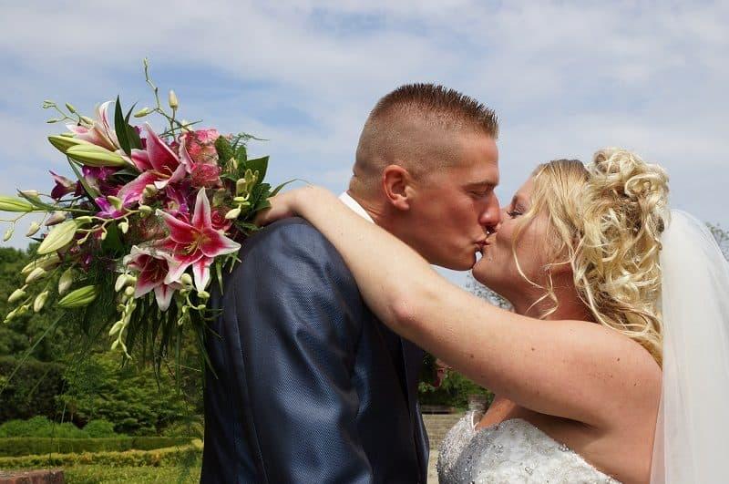 Trouwfotograaf Wageningen, trouwceremonie kerk, Nancy