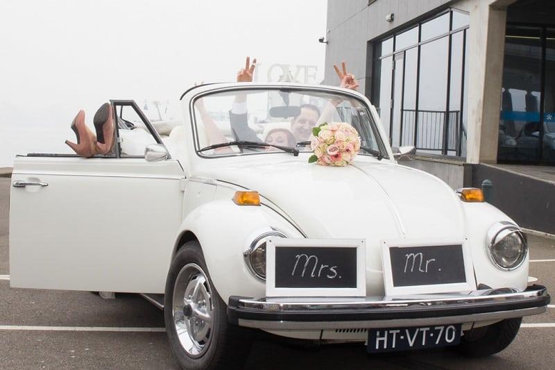 Trouwfotograaf Breda, trouwvervoer, Michelle